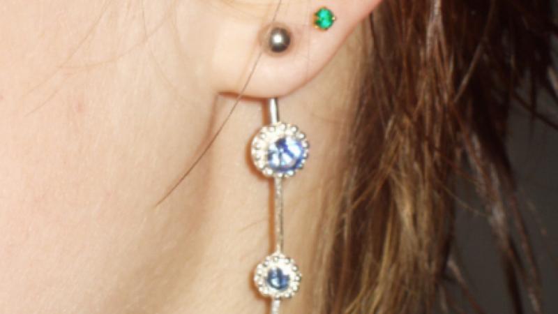 Øreringe er det vigtigste tilbehør